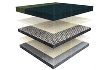 construction of a footfall tile