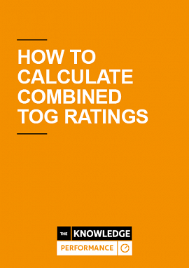 Calculating Combined Tog Ratings